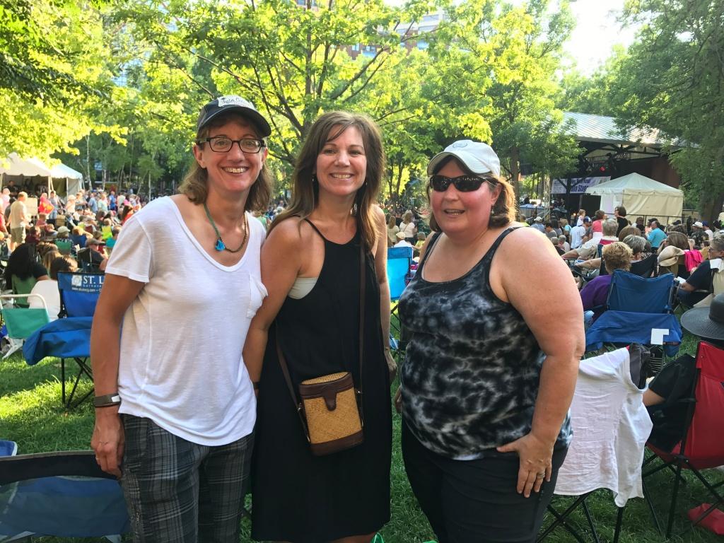 St. Paul Lowertown Blues Festival friends