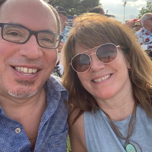 Photo of Beth Nault-Warner blogger at New Orleans Jazz Festival 2019
