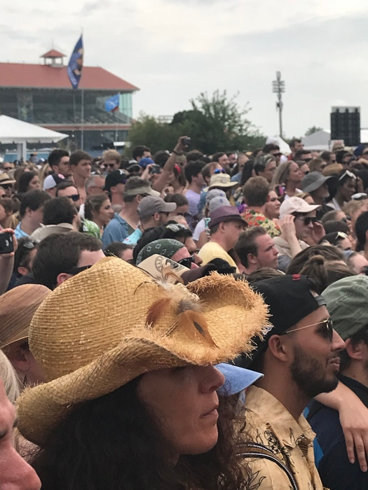 photo of people at new orleans jazz festival for top things to pack for music festival